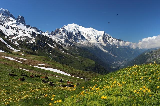 Le montagne della Valle D'Aosta